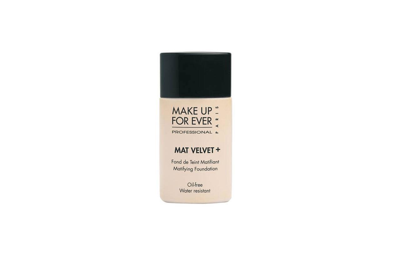 Mat Velvet Make Up For Ever: incarnato diafano e senza difetti