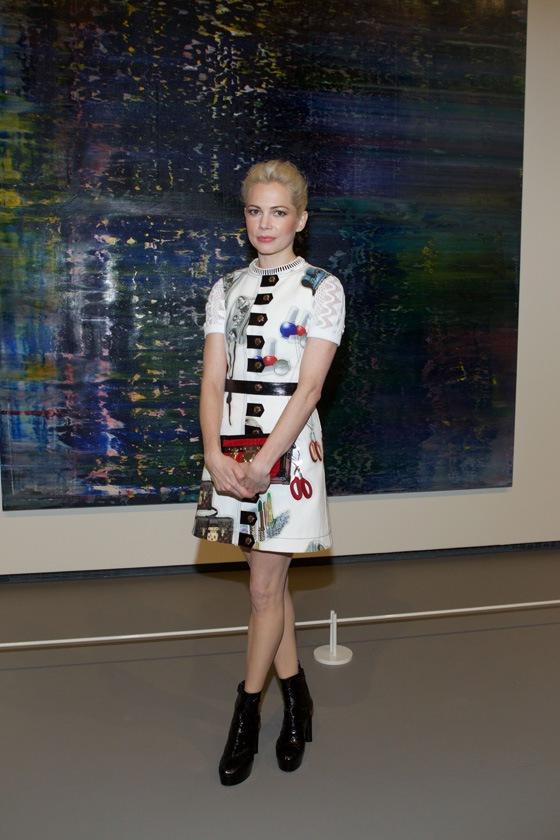 Michelle William in Louis Vuitton
