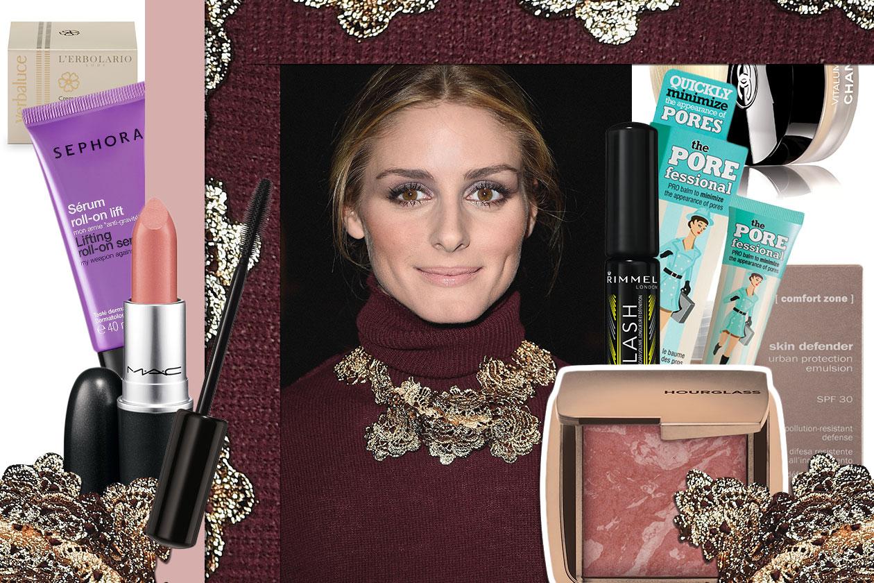 Olivia Palermo make up labbra nude