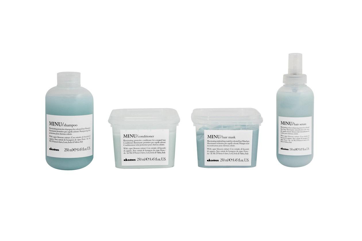 Prodotti per capelli colorati: Davines Minu