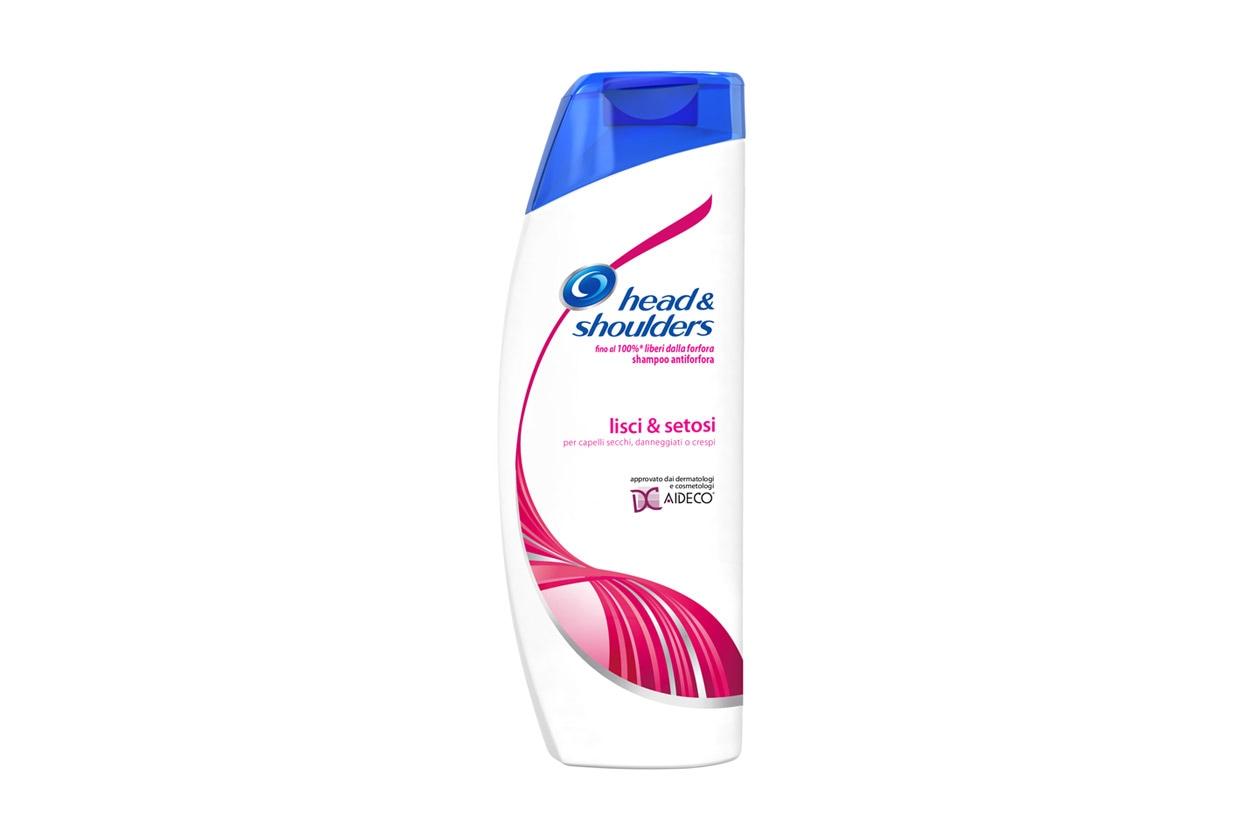 Prodotti per capelli colorati: Head & Shoulder Shampoo Lisci e Setosi