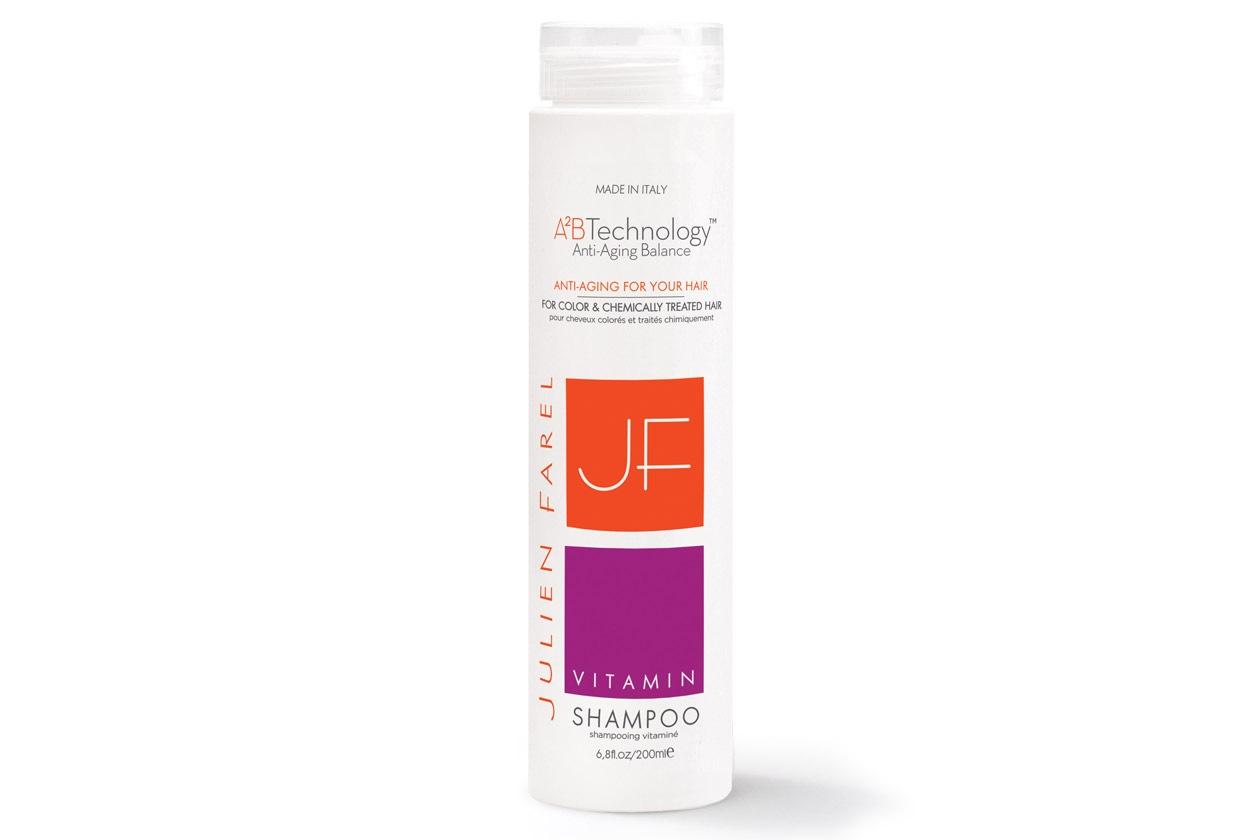 Prodotti per capelli colorati: Julien Farel Vitamin Shampoo