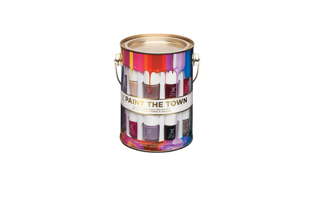 Ragali di Natale low cost: Formula X Paint the Town