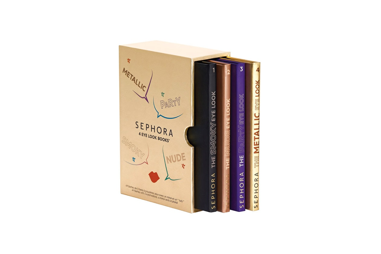 Sephora 4 Eye Look Books