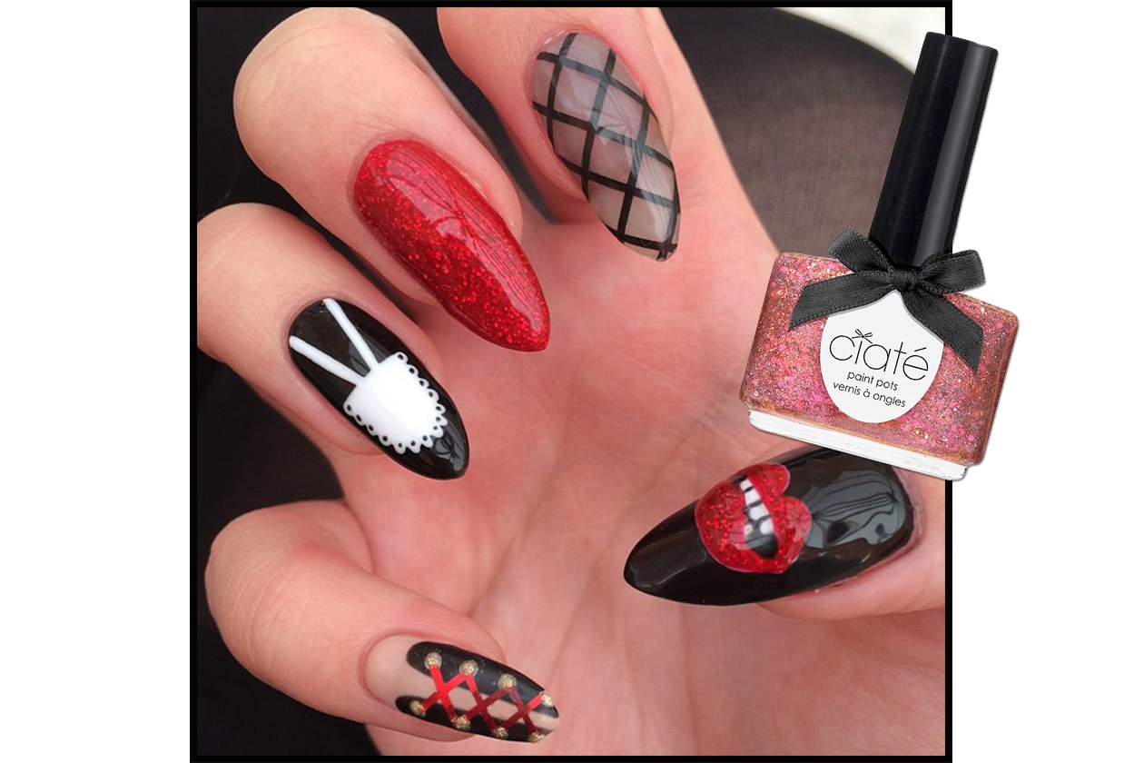 Spooky nails: The Rocky Horror Picture Show