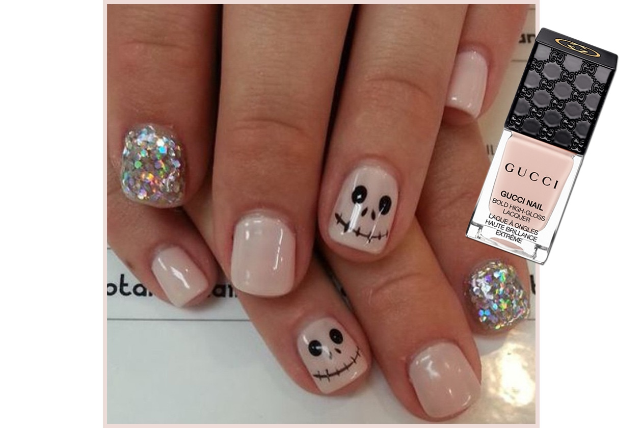 Spooky nails: ispirazione The Nightmare Before Christmas
