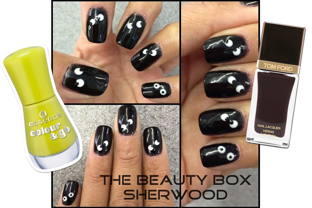 Spooky nails: uno sguardo nel buio