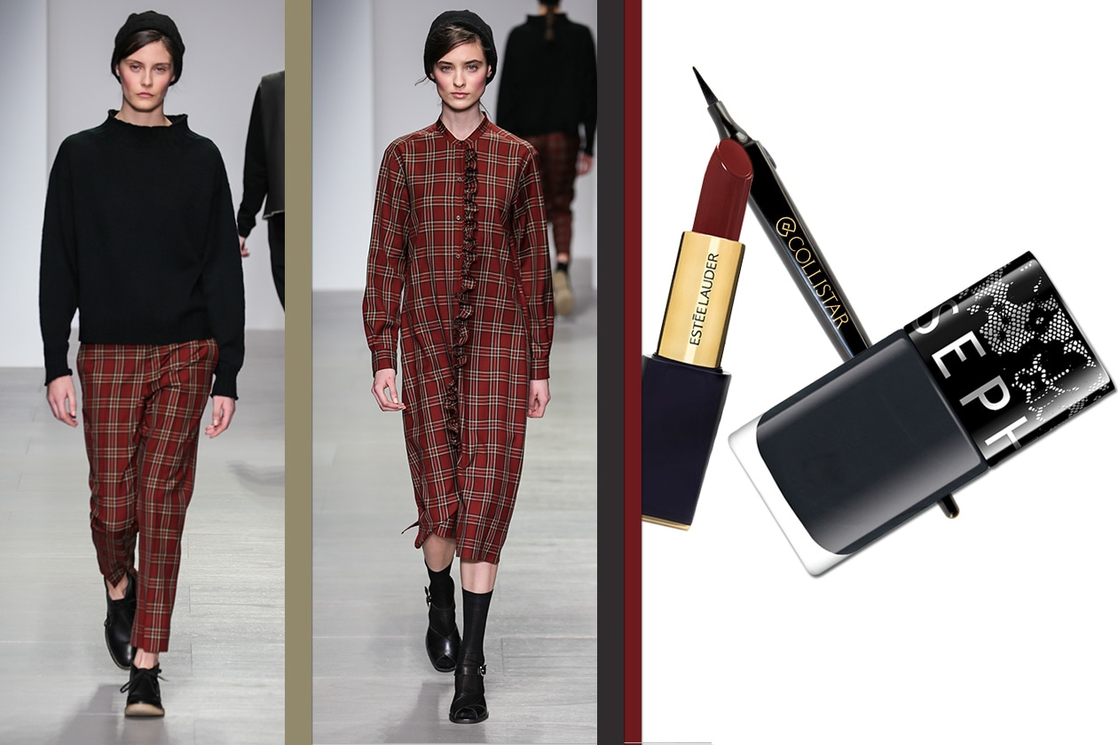 Tartan Beauty & Fashion ispirato a Margaret Howell