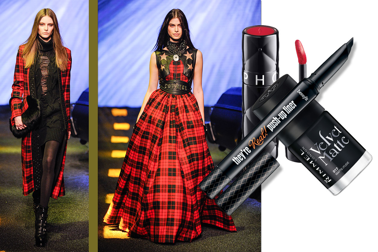 Tartan Beauty & Fashion ispirato a Philipp Plein