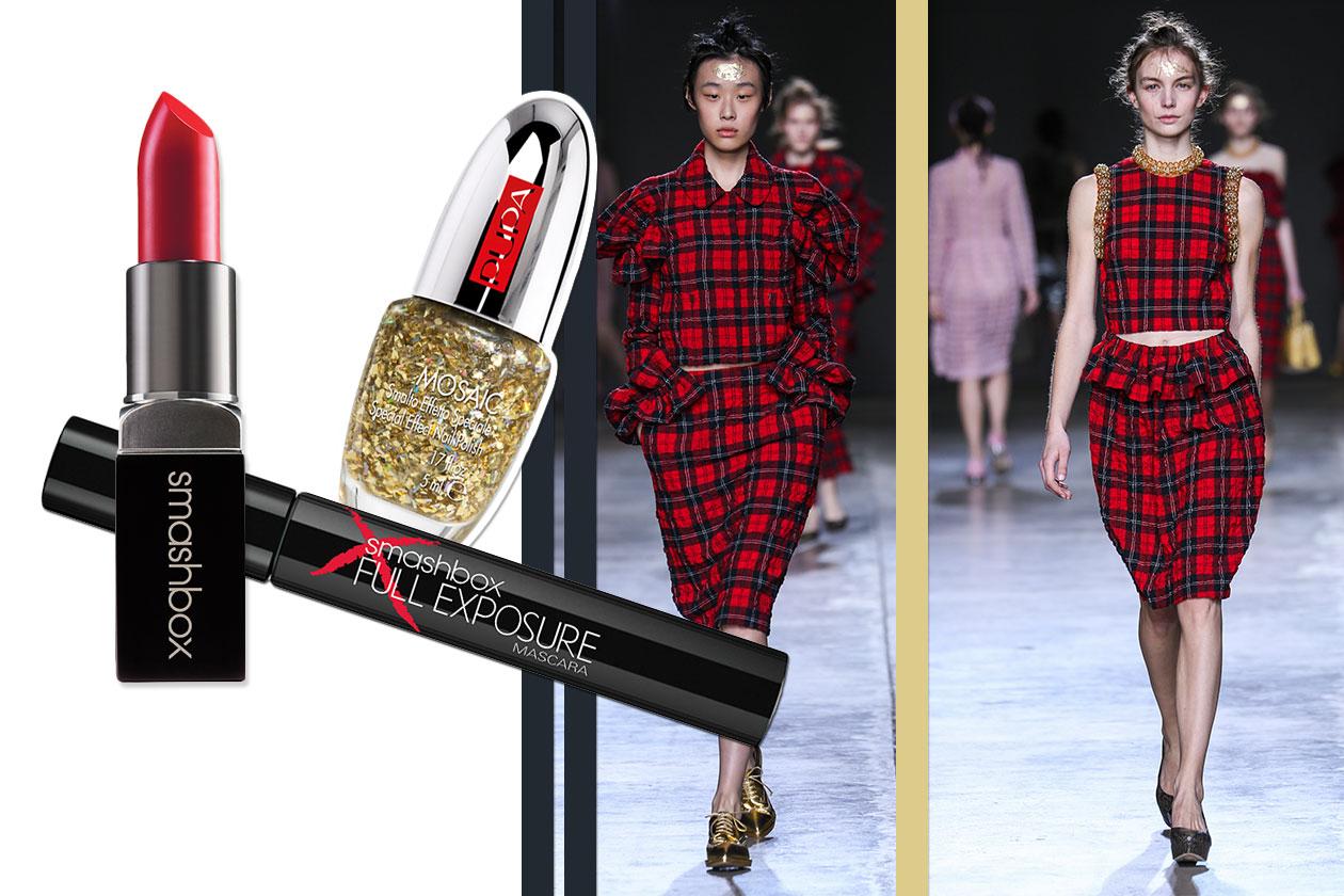 Tartan Beauty & Fashion ispirato a Simone Rocha