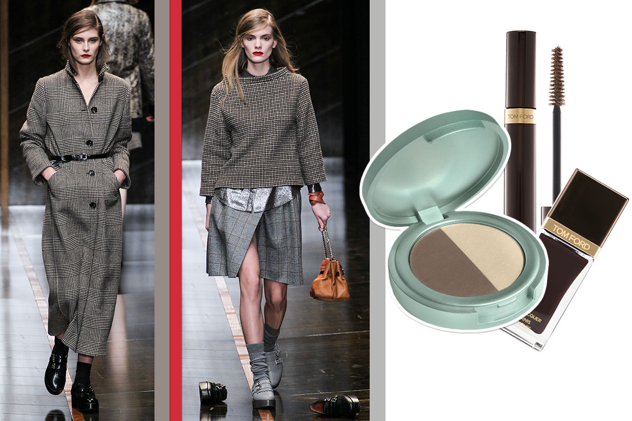 Tartan Beauty & Fashion ispirato a Trussardi
