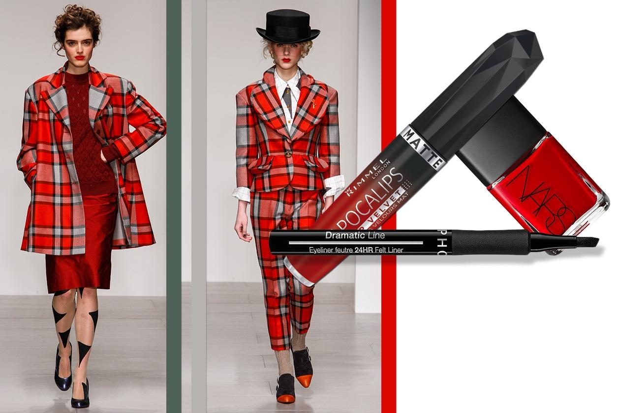Tartan Beauty & Fashion ispirato a Westwood Red Label