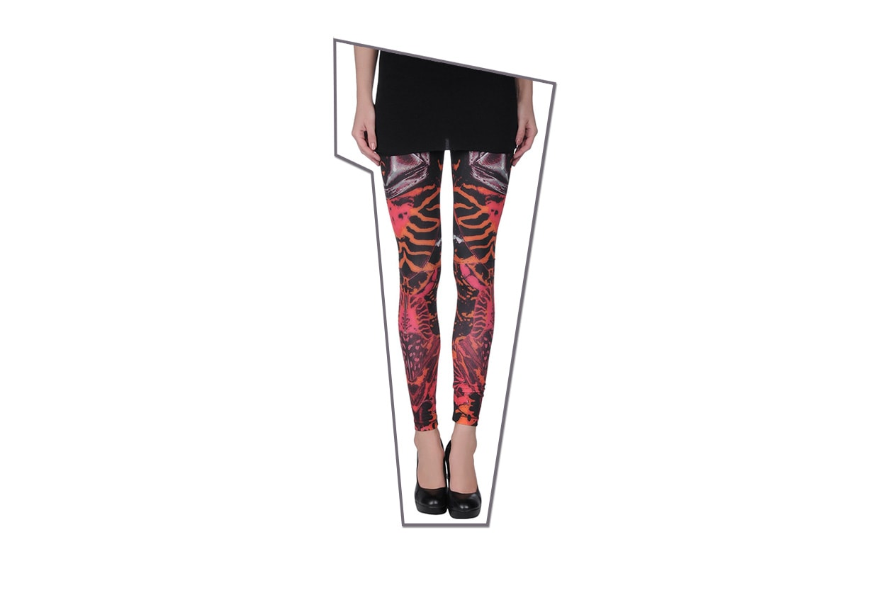 Trucco punk e chiodo: leggings Alexander Mc Queen