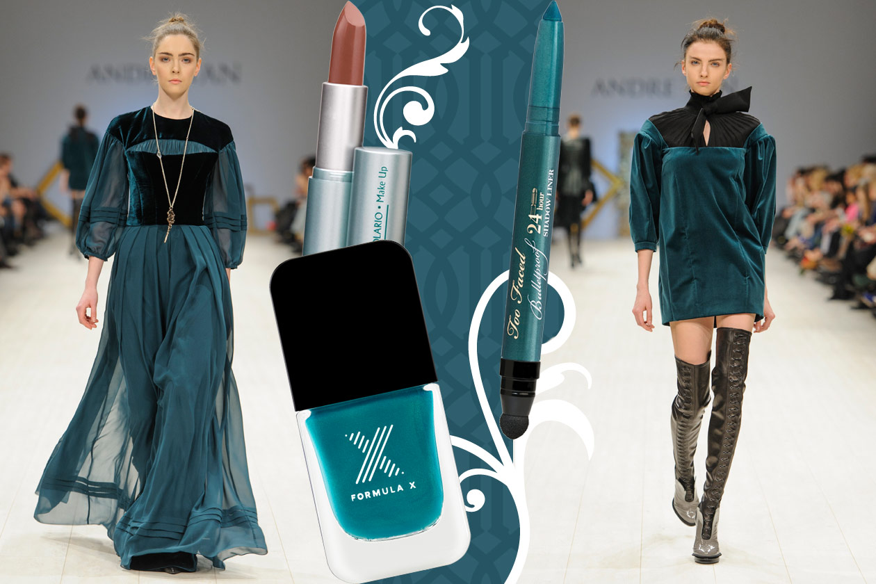 Velluti e broccati: gli abbinamenti beauty&fashion – BLUE VELVET Andre Tan