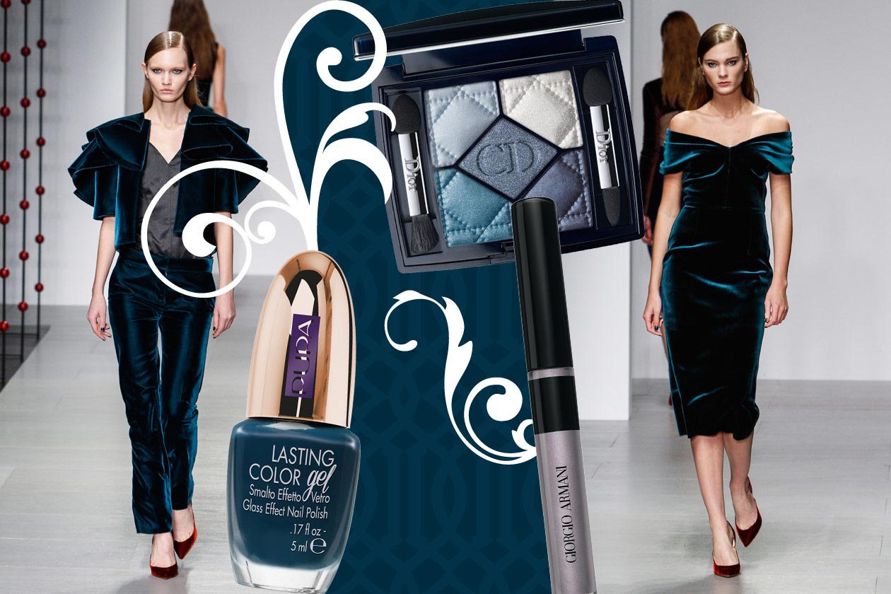 Velluti e broccati: gli abbinamenti beauty&fashion – BLUE VELVET Emilio De La Morena