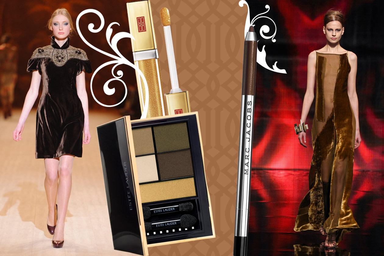 Velluti e broccati: gli abbinamenti beauty&fashion – GOLD VELVET