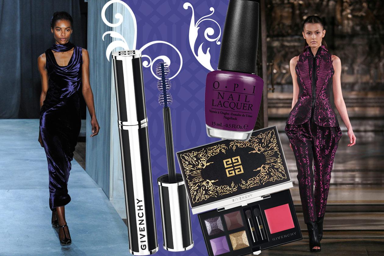 Velluti e broccati: gli abbinamenti beauty&fashion – PURPLE VELVET