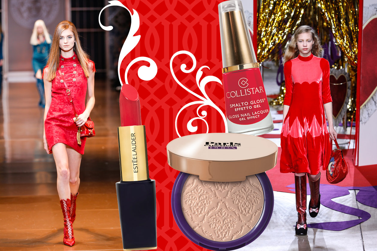 Velluti e broccati: gli abbinamenti beauty&fashion – RED VELVET 02