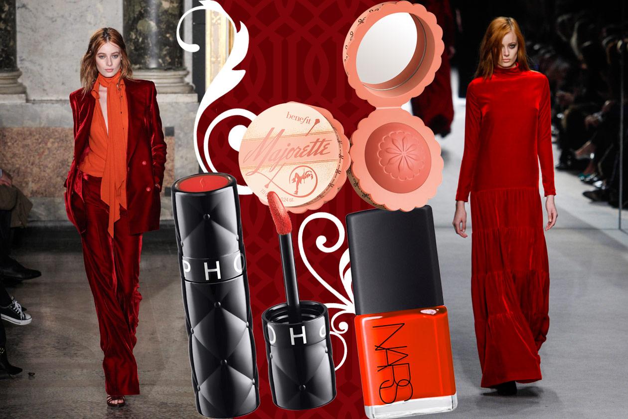 Velluti e broccati: gli abbinamenti beauty&fashion – RED VELVET 03