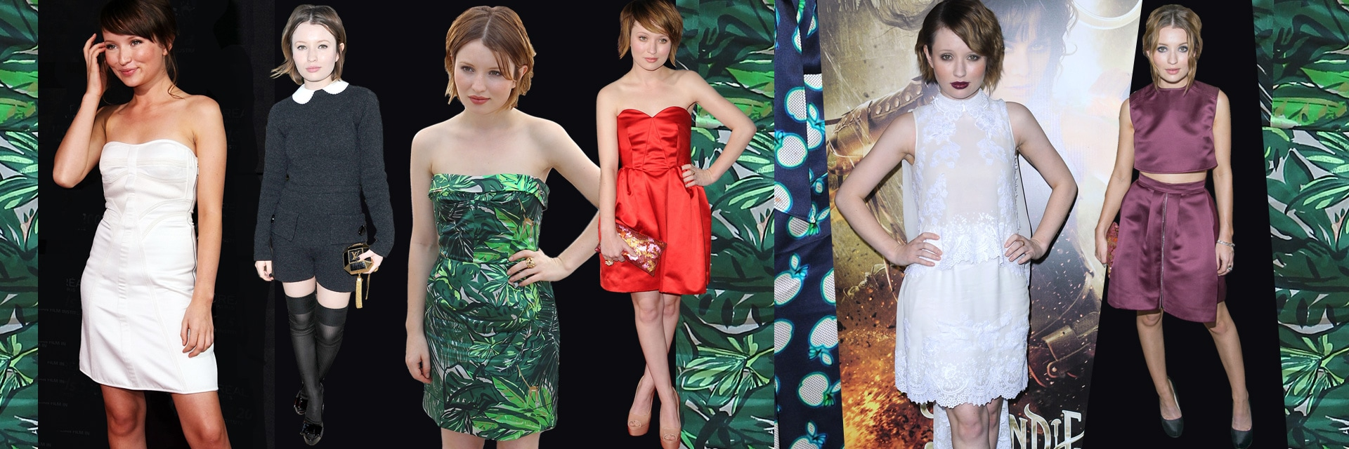 Emily Browning: lo stile preppy dell'attrice australiana