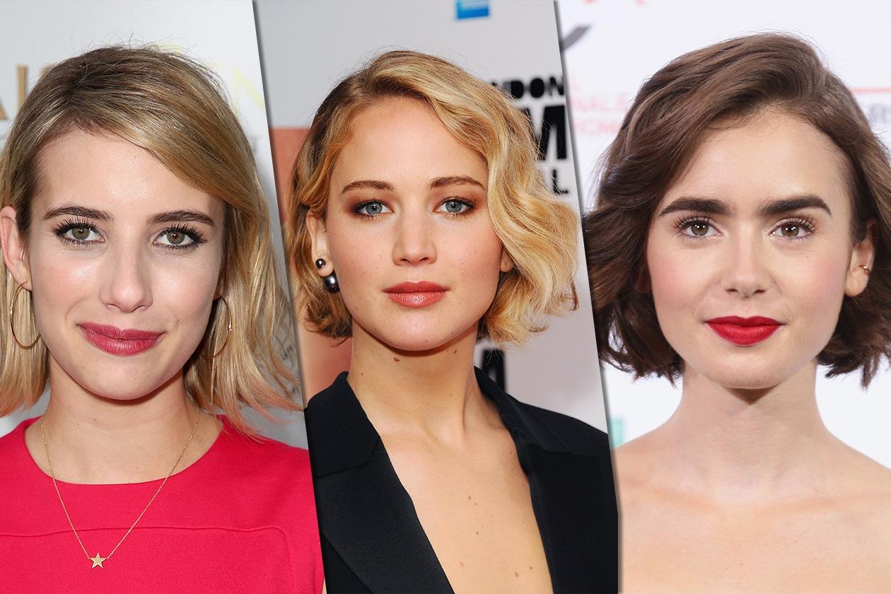 """""""Wob"""" da star: le celebrity scelgono il bob con effetto mosso"""