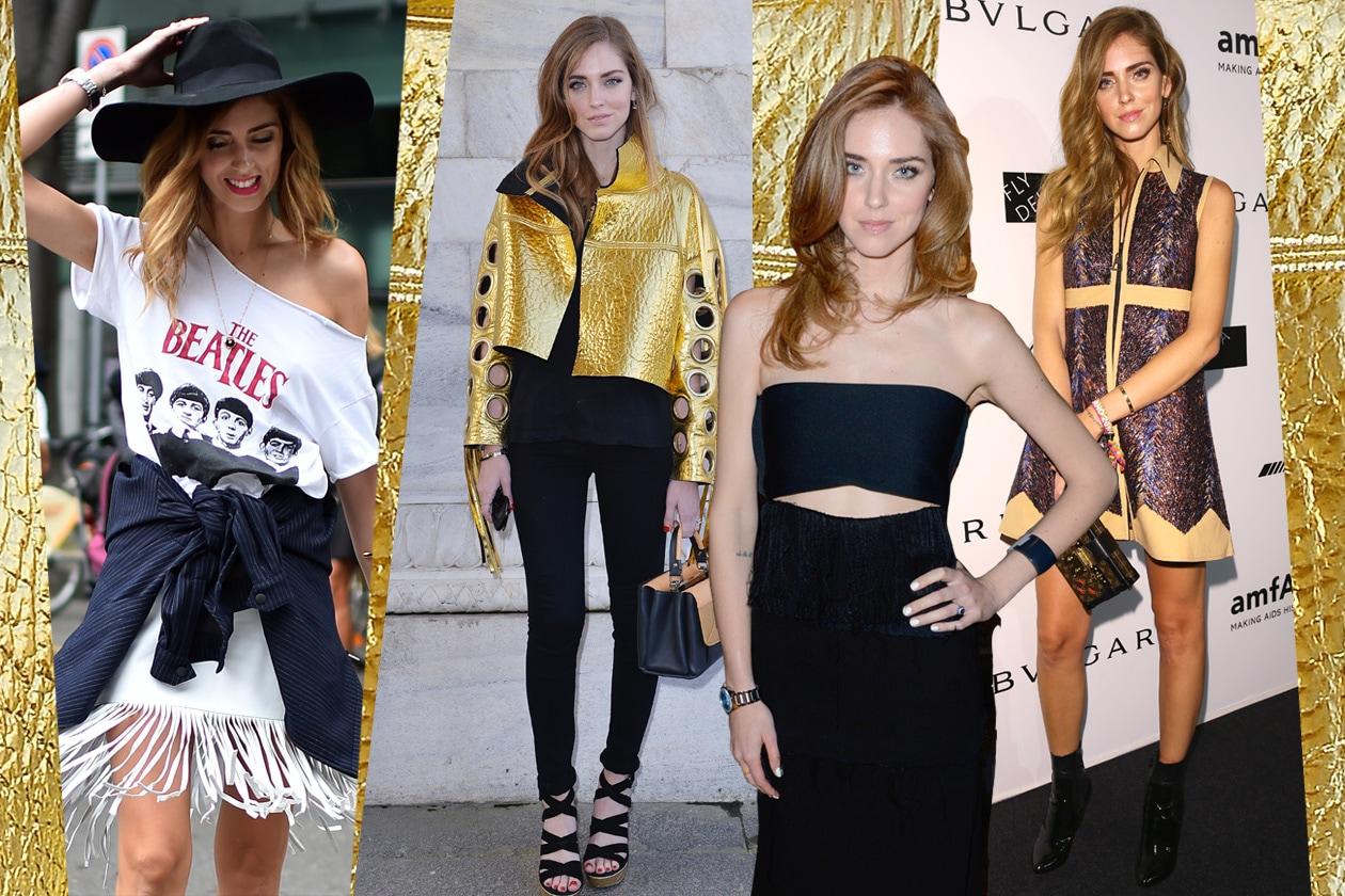 Chiara Ferragni: tutti i look della star de The Blonde Salad