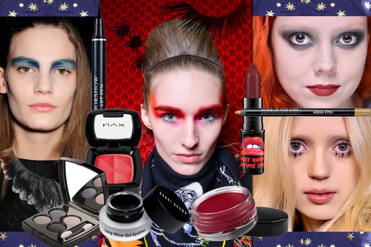 Trucco Halloween: le idee più glamour per make up gotico-dark
