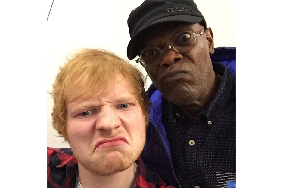 Ed Sheeran: «Chilling with mace windu (In congelamento)»