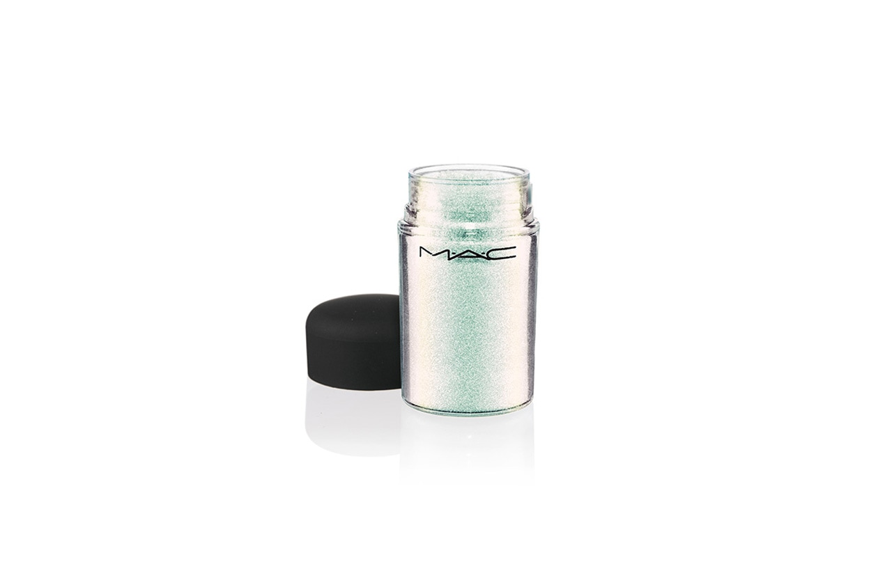 GLITTER REFLECTS IN TRANSPARENT TEAL BY MAC