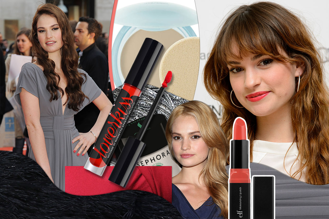 1 Beauty Lily James Make Up 00 Cover collage