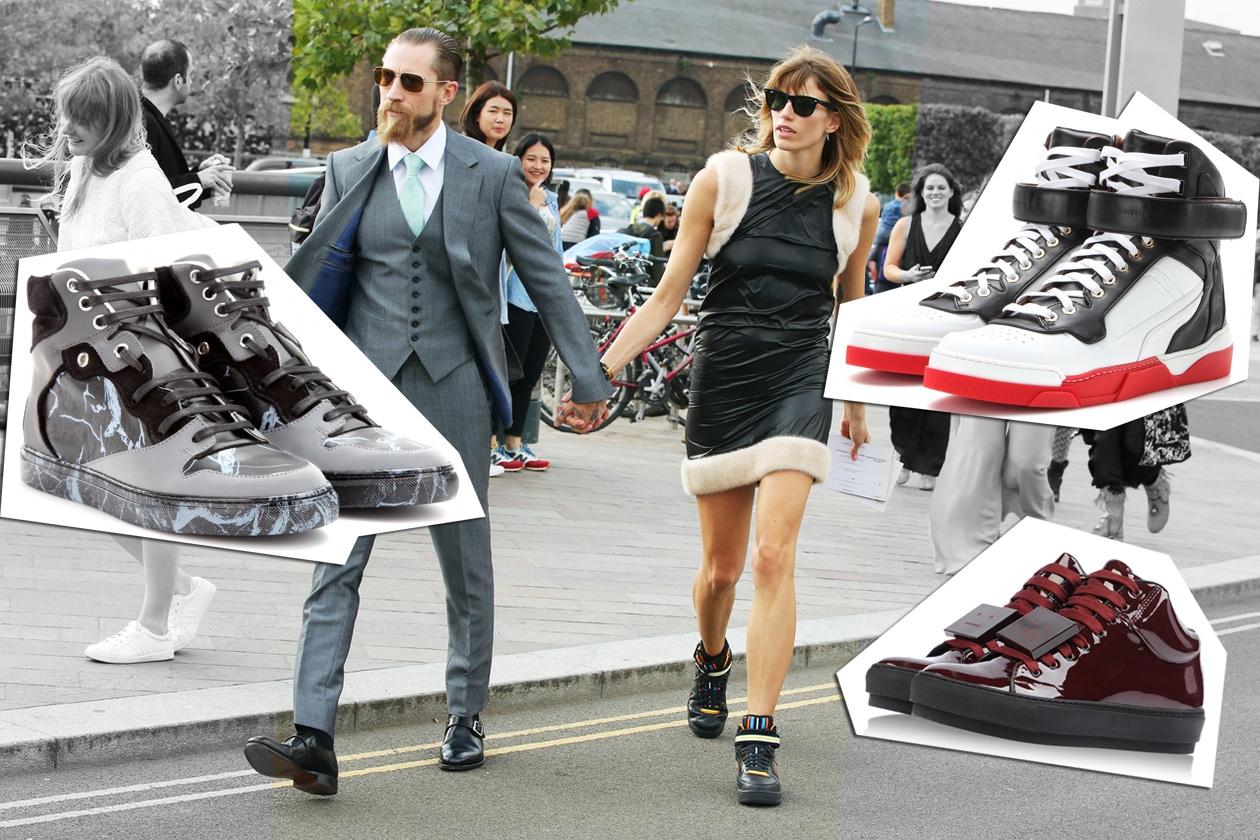 Sneakers mania: le tendenze per l'Autunno Inverno 2014