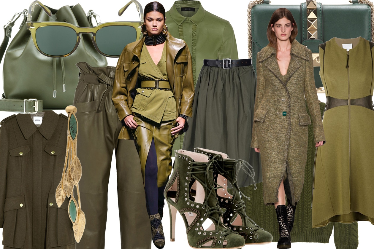 COVER olive green