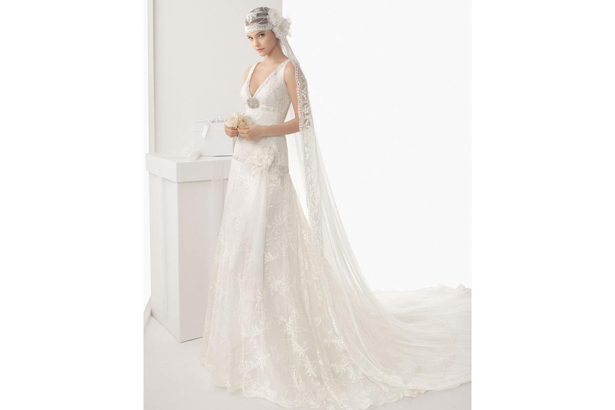 vestido de novia rosa clara 114