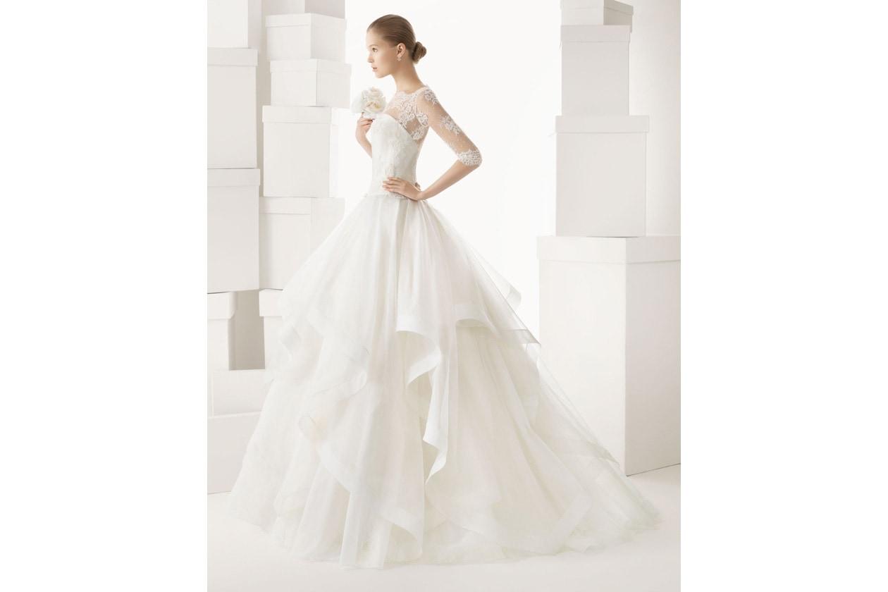 vestido de novia rosa clara 153 1