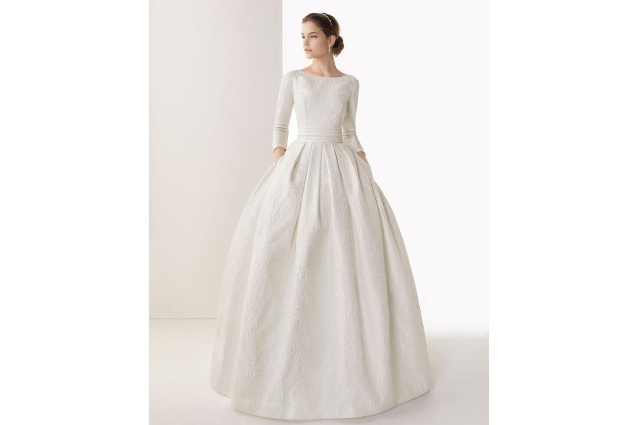 vestido de novia rosa clara 203