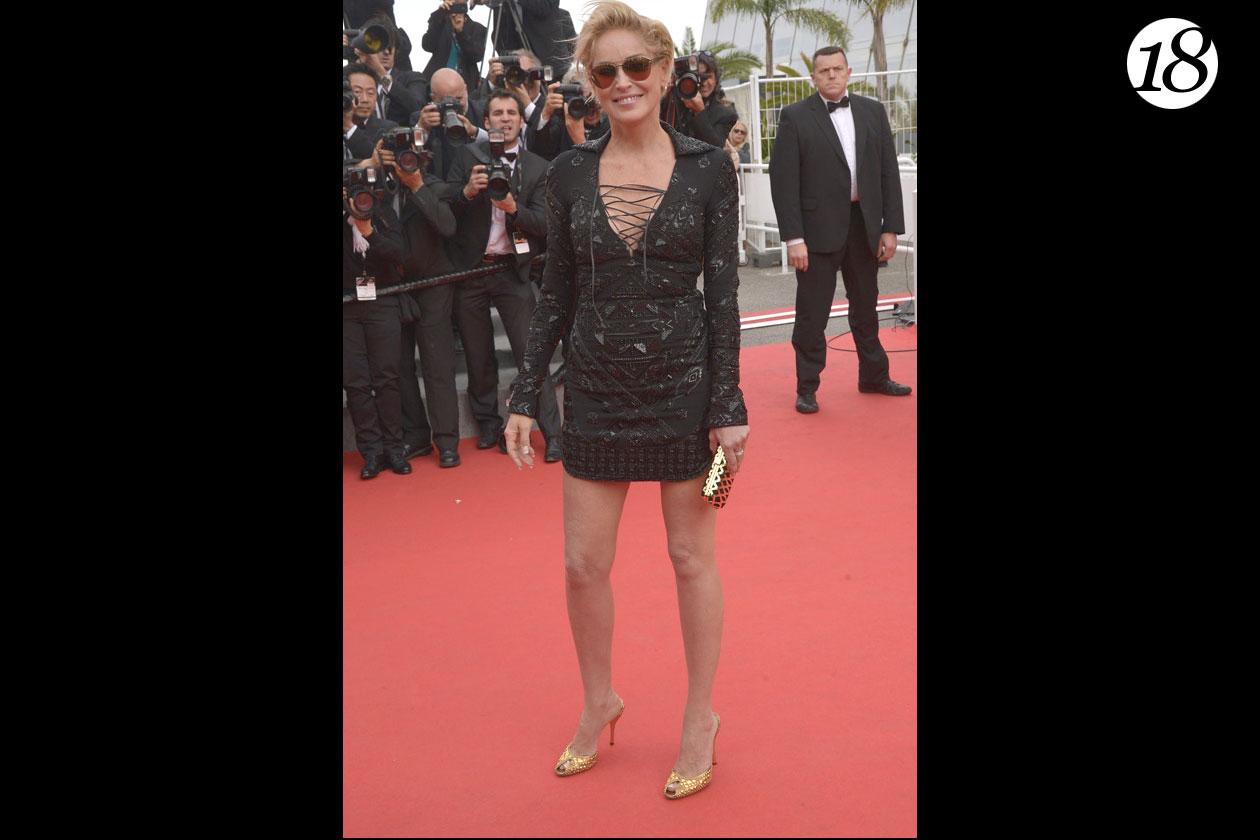 18: Sharon Stone