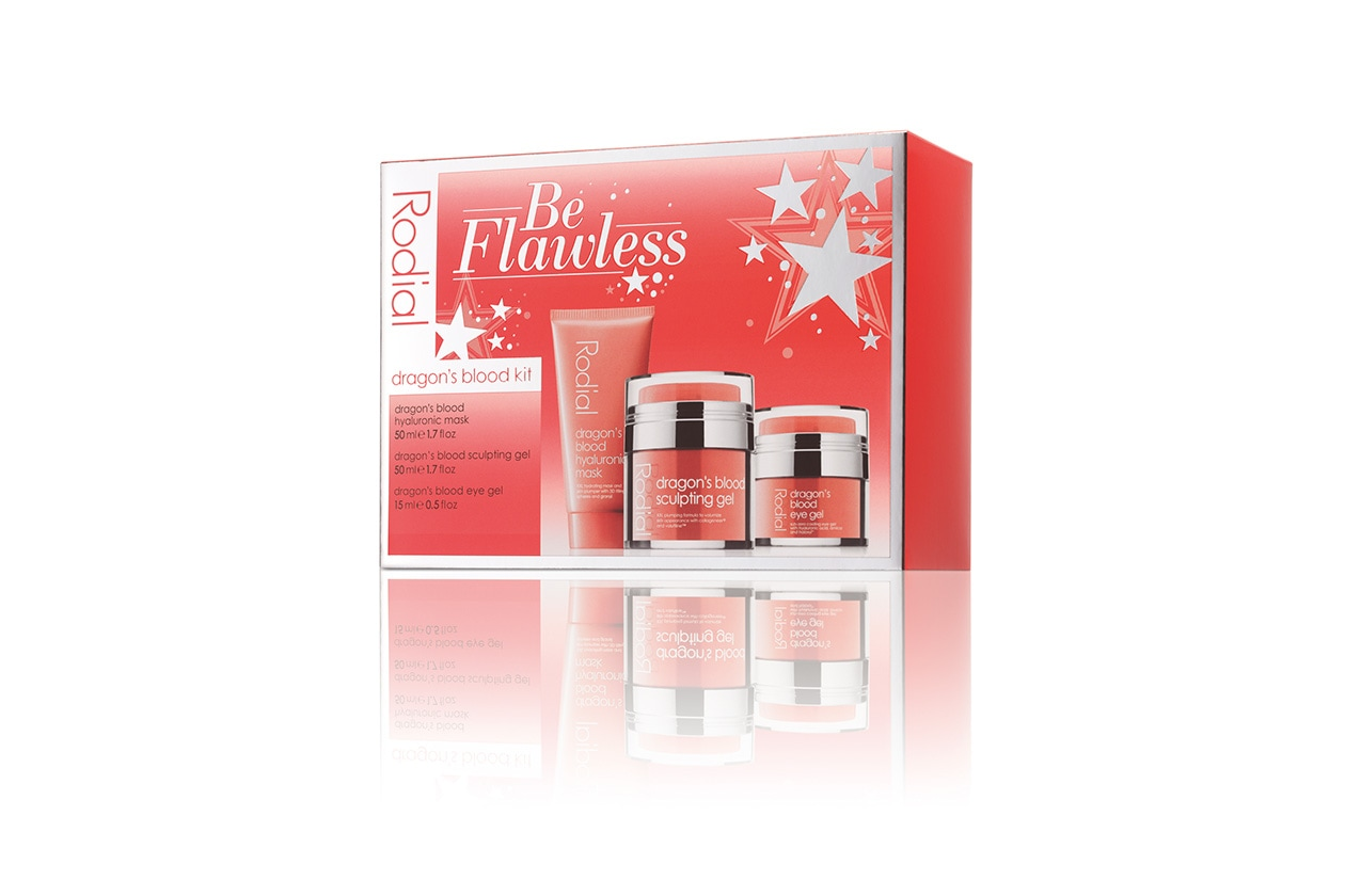 BE FLAWLESS DRAGON'S BLOOD KIT BY RODIAL