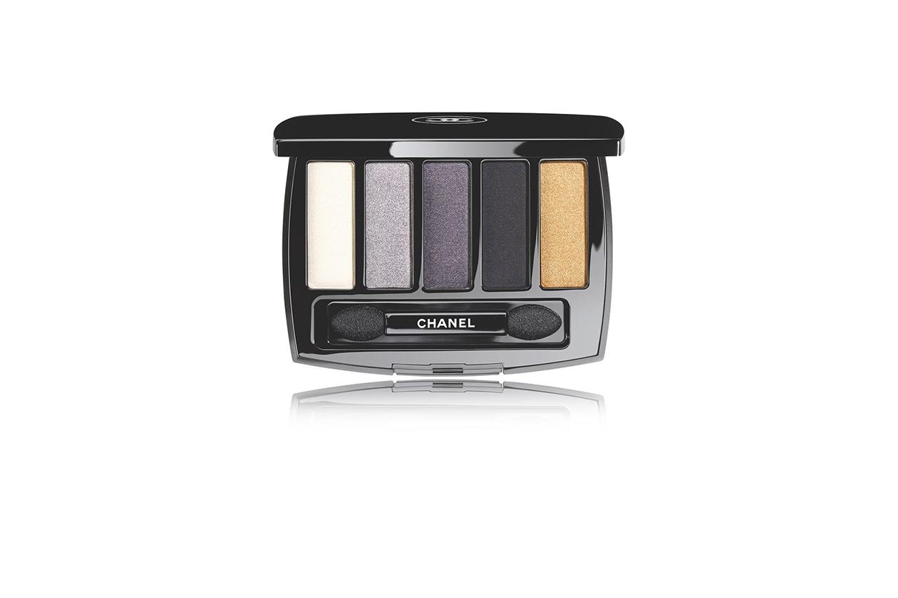 BEAUTY OCCHI DI GHIACCIO Make up occhi argento Chanel Les 5 Ombres de Chanel Oiseaux de Nuit