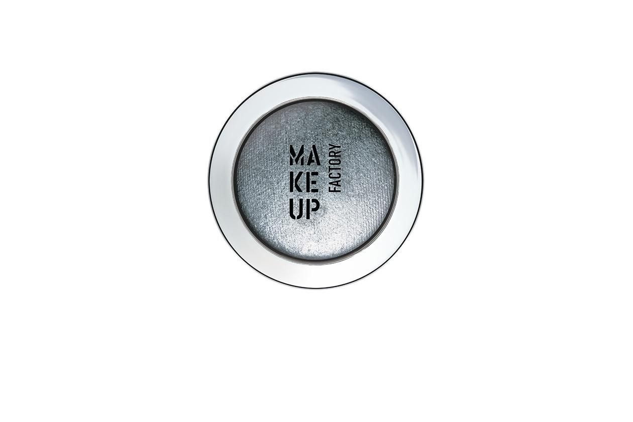 BEAUTY OCCHI DI GHIACCIO Make up occhi argento Make Up Factory Eye Shadow 09 Starlet Grey