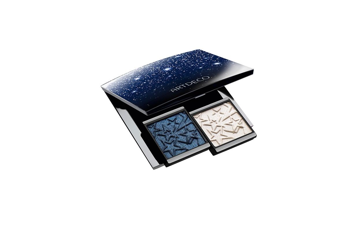 BEAUTY OCCHI DI GHIACCIO Make up occhi azzurro Artdeco Beauty Box Moonlight