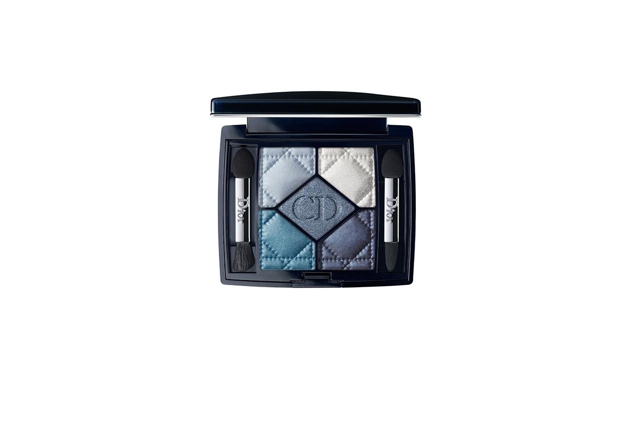 BEAUTY OCCHI DI GHIACCIO Make up occhi azzurro Dior 5 Couleurs 276 Carré Bleu
