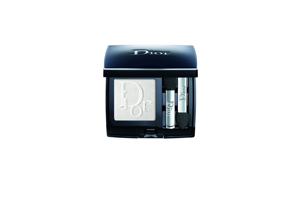 BEAUTY OCCHI DI GHIACCIO Make up occhi bianco Dior Diorshow Mono Couleur 006 Swan