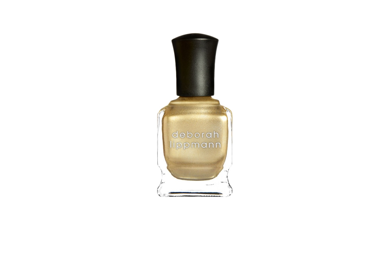 Beauty Gold Accents Nailart SLIDE B autumn in new york