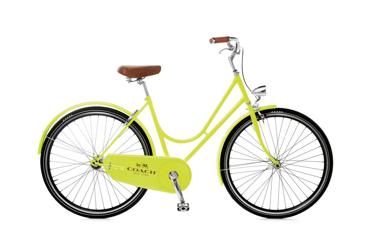 C.O.A.C.H Neon Glo Lime Bike