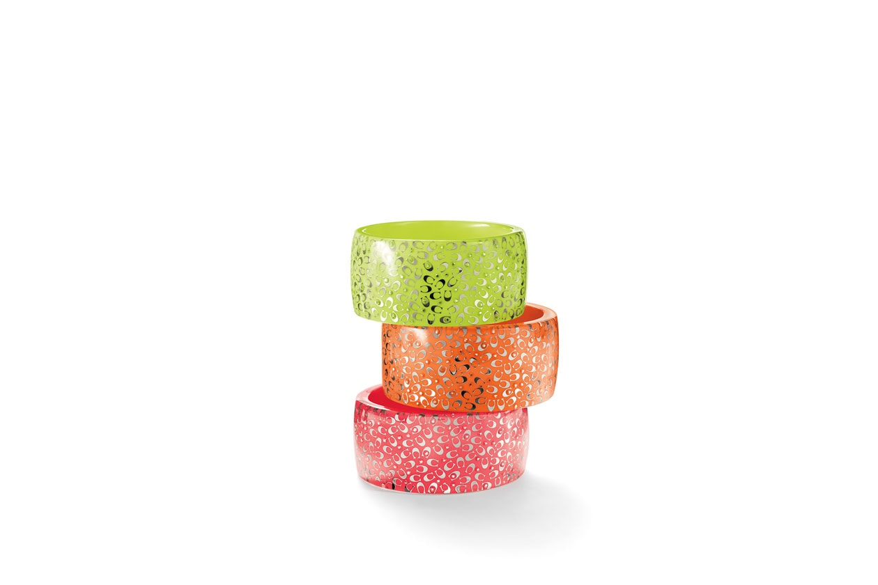 C.O.A.C.H Neon Sprinkle Cs Resin Bangle
