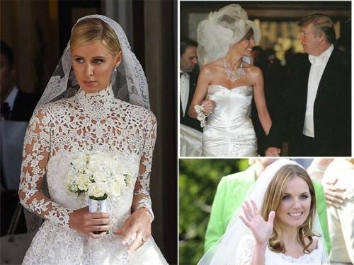 Gli abiti da sposa delle celeb - Grazia.it 90c17795cab