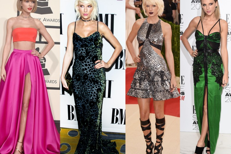 Taylor Swift: metamorfosi di stile