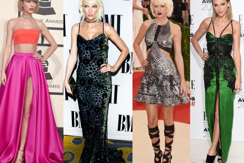 Taylor Swift: metamorfosi di stile