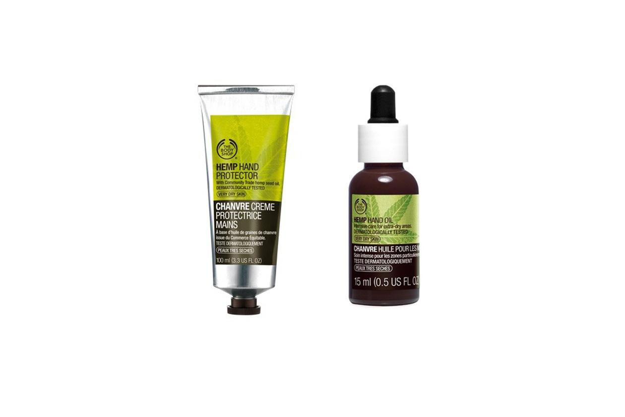 CREME MANI: The Body Shop Crema Protettiva e Olio