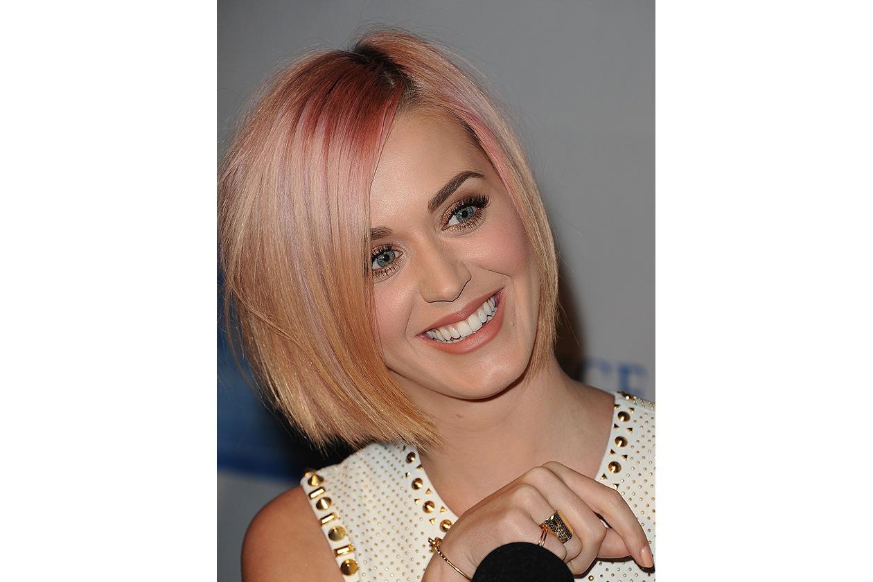 Capelli rosa: Katy Perry